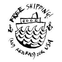 free shipping (and returns)